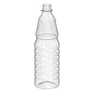 BOTELLA PET FACETADA 980 ML
