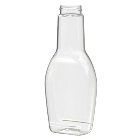 BOTELLA SQ OVAL 250 ML