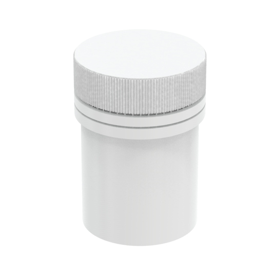 PASTILLERO CILINDRICO 15ML C/TAPA INVIOLABLE